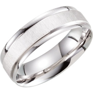 Lightweight 6mm Patterned Band