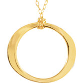 Fashion Circle Necklace