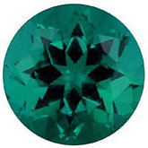 Round Chatham Created Emerald