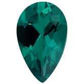 Pear Chatham Created Emerald