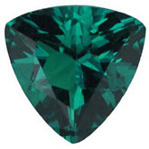 Trillion Chatham Created Emerald