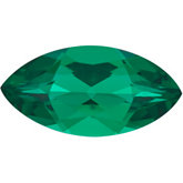 Chatham® Created Emerald - Marquise Faceted; Fine Quality