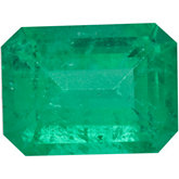 Genuine Emerald - Emerald/Octagon Faceted -Non-Returnable; A Quality