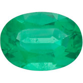 Genuine Emerald - Oval Faceted -Non-Returnable; A Quality