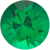 Genuine Emerald - Round Diamond Cut; AAA Quality