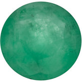 Genuine Emerald - Round Faceted Medium; Commercial 3 Quality