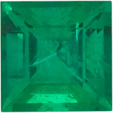 Genuine Emerald - Square Step -Non-Returnable; AA Quality