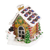 Gingerbread House Hinged Jewelry Box