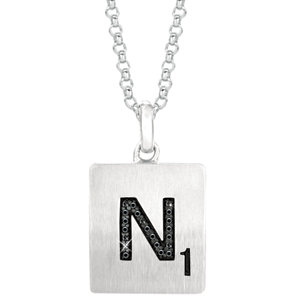 Scrabble® Diamond Necklace