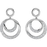 5/8 ct tw Diamond Earrings