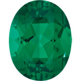 Oval Lab Created Emerald