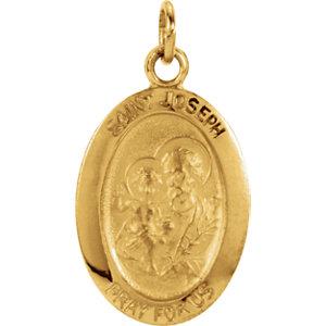 St. Joseph Oval Medal