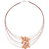 Freshwater Cultured Pearl Multi-Strand Necklace