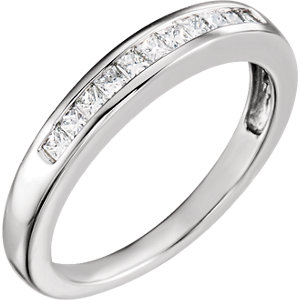 Sterling Silver Band Mounting for 5mm Ring Size 7