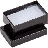 Black Cotton Filled Boxes #21