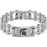 Michigan State Spartans Logo Bracelet