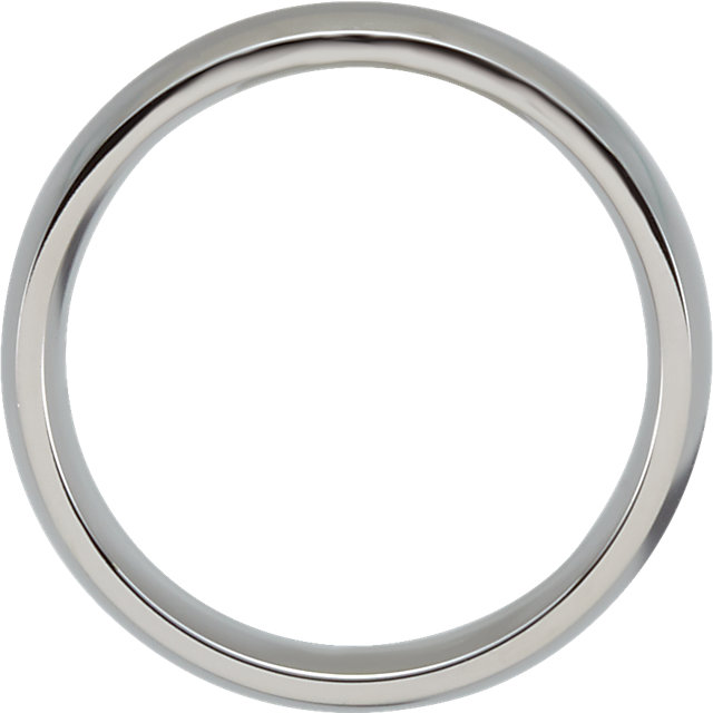 Stainless Steel 6mm Ring Size 7.5