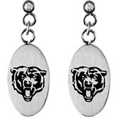 Chicago Bears Logo Dangle Earrings