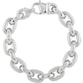 Stainless Steel Open Link Bracelet or Chain