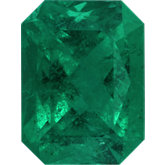 Emerald/Octagon Genuine Emerald (Black Box)