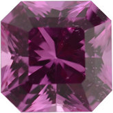 Princess Asscher Genuine Pink Sapphire (Black Box)