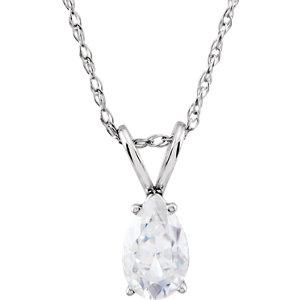 Aharles & Aolvard Moissanite® Necklace