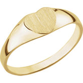 Youth Heart Signet Ring