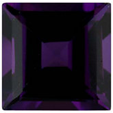 Square Imitation Amethyst