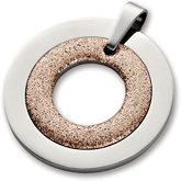 Amalfi™ Stainless Steel Glitter Circle Pendant with Immersion Plate