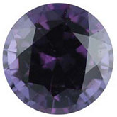 Genuine Garnet Color Change - Round Faceted -Non-Returnable; AA Quality; Bluish Green/reddish Purple