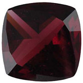 Antique Square Genuine Brazilian Garnet