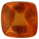 Antique Square Genuine Spessartite Garnet
