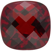 Antique Square Imitation Garnet