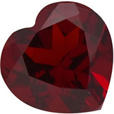 Heart Genuine Mozambique Garnet