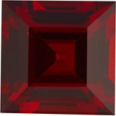 Square Genuine Mozambique Garnet