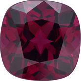Antique Square Genuine Rhodolite Garnet