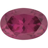 Oval SWAROVSKI GEMS™ Genuine Pink Rose Garnet