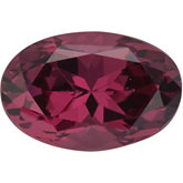 Oval SWAROVSKI GEMS™ Genuine Raspberry Garnet