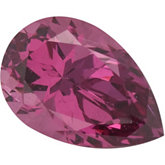 Pear SWAROVSKI GEMS™ Genuine Pink Rose Garnet