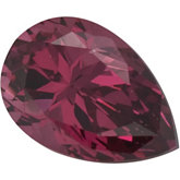 Pear SWAROVSKI GEMS™ Genuine Raspberry Garnet