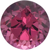 Genuine Garnet Rhodolite - Round Faceted-Machine Cut Swarovski Gems; Fine Quality; PINK ROSE