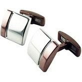 Stainless Steel Cuff Links with Immerse Plating