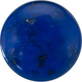 Round Genuine Lapis