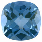 Antique Square Imitation Aquamarine