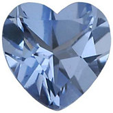Heart Imitation Aquamarine