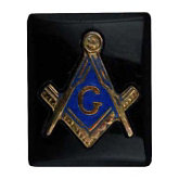 Cushion Black Masonic