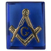 Cushion Blue Masonic