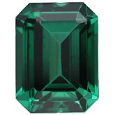 Emerald/Octagon Imitation Emerald