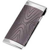 Stainless Steel Money Clip with Immerse Plating