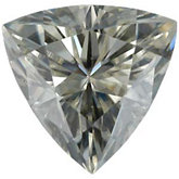 Charles & Colvard™ Created Moissanite - Trillion Faceted; Very Good Quality